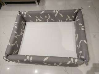 Montessori Baby or Toddler Padded Floor Bed