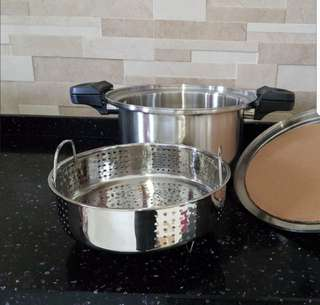 Stainless steel energy saving / fast cooking pot