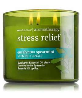 Stress Relief Candle from Bath & Body Works