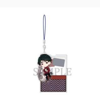 Yuri on ice oyasumi acrylic strap seung gil