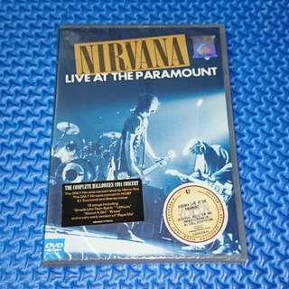 🆕 Nirvana - Live At The Paramount [2011] DVD