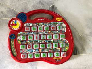 Vtech Phonics Desk Alphabet Toy