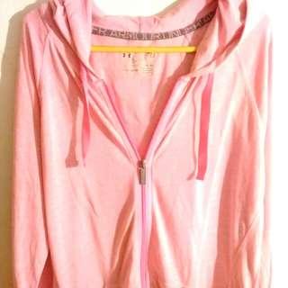 Pink hoodie jaket