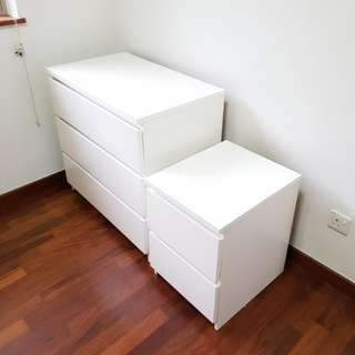 Chest Of Drawers (3 tier and 2 tier)