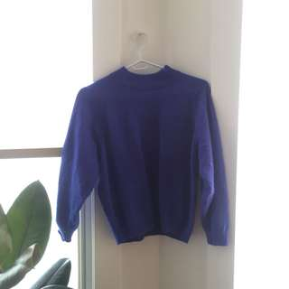 Blue vintage sweater