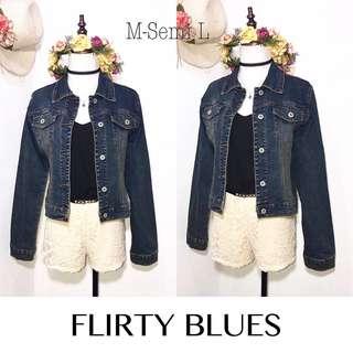 Branded Flirty Blues Denim Jacket FP36