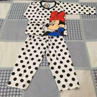 Minnie pajamas 4 thn