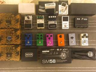 Clearance sale  for Guitar Pedals