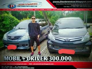 PAKET MURAH SEWA/RENTAL MOBIL & DRIVER,JT AUTO RENTCAR