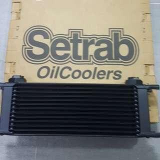 Setrab 13 roll oil cooler BNIB