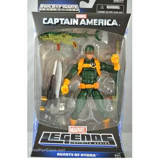 BRAND NEW IN BOX MARVEL LEGENDS HYDRA AGENT (WITH BAF PART)