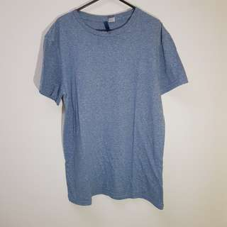 H&M Divided Blue Heater T-Shirt