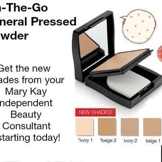 Mary Kay On-The - Go Mineral Pressed Powder