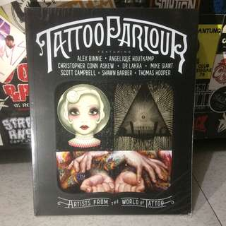 "TATTOO PARLOUR ""artist from the world of tattoo"" #books #tattoo #tattooparlour #bodyart"