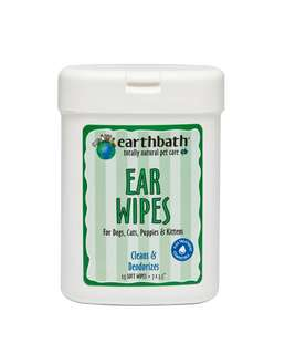 Earthbath Ear Wipes for cats and dogs 25s