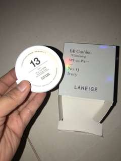 Laneige bb cushion whitening 13 ivory