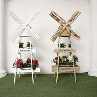 Windmill Plant Rack (Wood)
