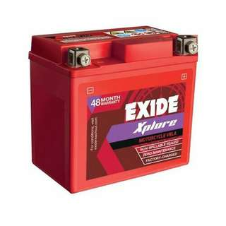 Car Battery. TRUSTED CAR BATT. SPARE BATT. EXIDE BATTERY