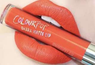 Colourpop Ultra Matte Lip in First Class