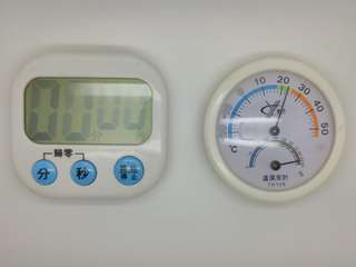 Kitchen Timer & Thermometer, 100% new