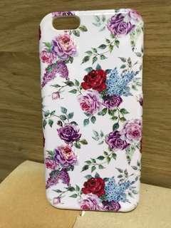 I phone 6 電話套 - 立體彩色碎花