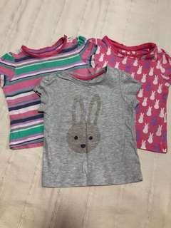 Mothercare baby tops