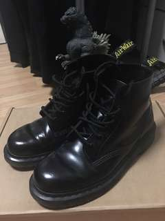 Dr Martens Boots 101 Black Smooth