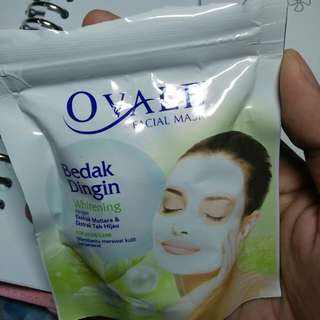 Ovale Facial Mask Bedak Dingin For Acne Care