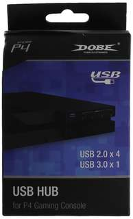 9.Dobe 2 to 5 USB HUB for PS4 System