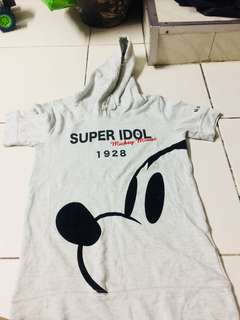 preloved hoodie shirt mickey mouse
