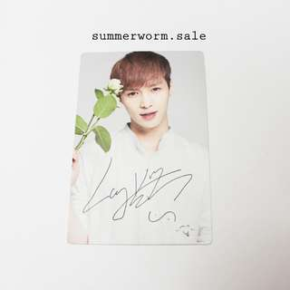 EXO Nature Republic official photocard - Lay Zhang Yixing #20under