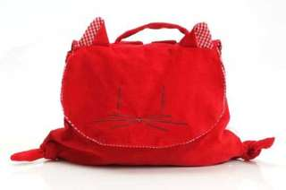 Red Cat Toddler Backpack