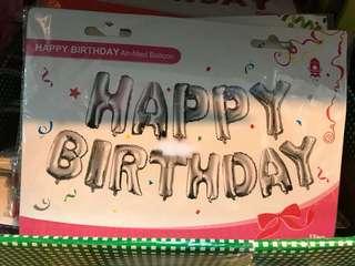 SALE! Happy Birthday Set Foil Balloons