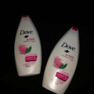 Dove gofresh Body wash pomegranate 200ml