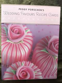 Wedding favours iced cookies cakes baking card set