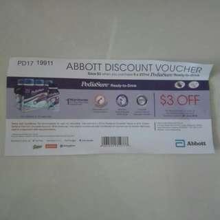 TO BLESS pediasure discount voucher