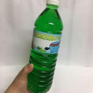 Daddy's dishwashing liquid!!!