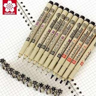 Sakura Pigma Micron Pen Set