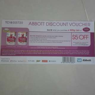 TO BLESS Similac discount Voucher