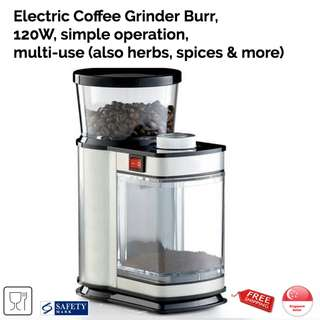 Electric Coffee Grinder Burr