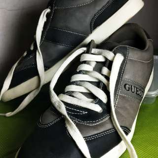 Guess Leather Fashion Sneakers