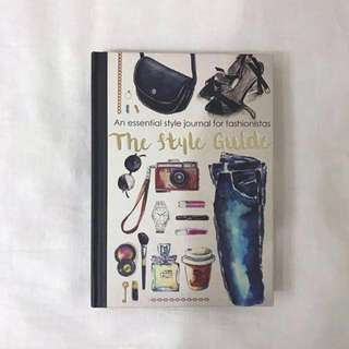 typo the style guide fashion activity journal book