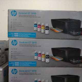 Printer hp deskjet gt5810