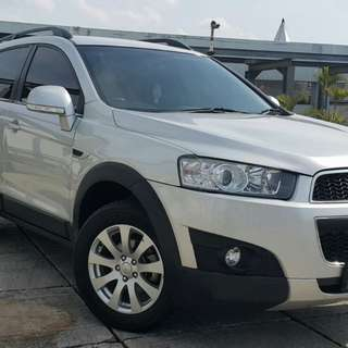 Chevrolet Captiva FL 2.0 at Diesel 2013 silver metalik
