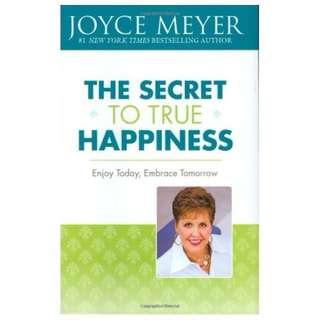 #Blessing: The Secret to True Happiness: Enjoy Today, Embrace Tomorrow (Joyce Meyer)