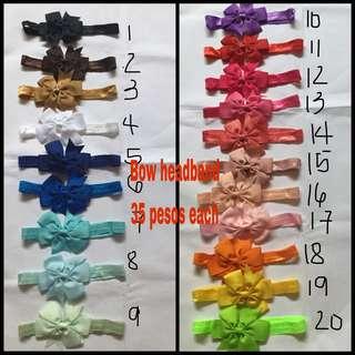 Fishtail elastic headband