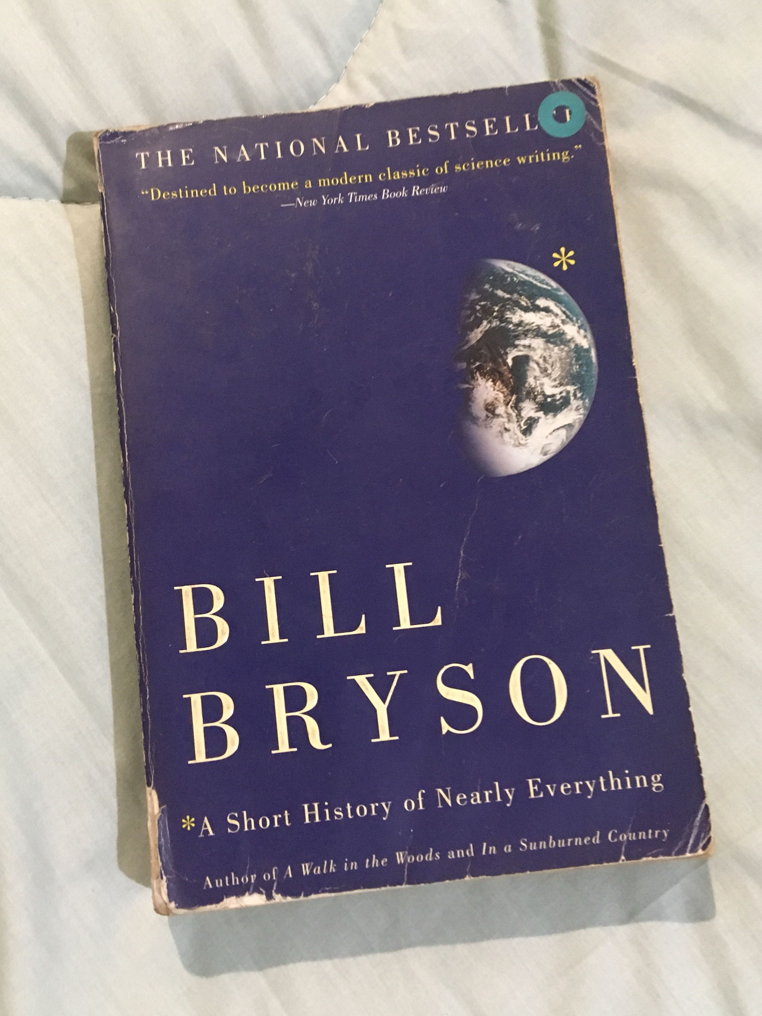A Short History Of Nearly Everything By Bill Bryson Books On Carousell