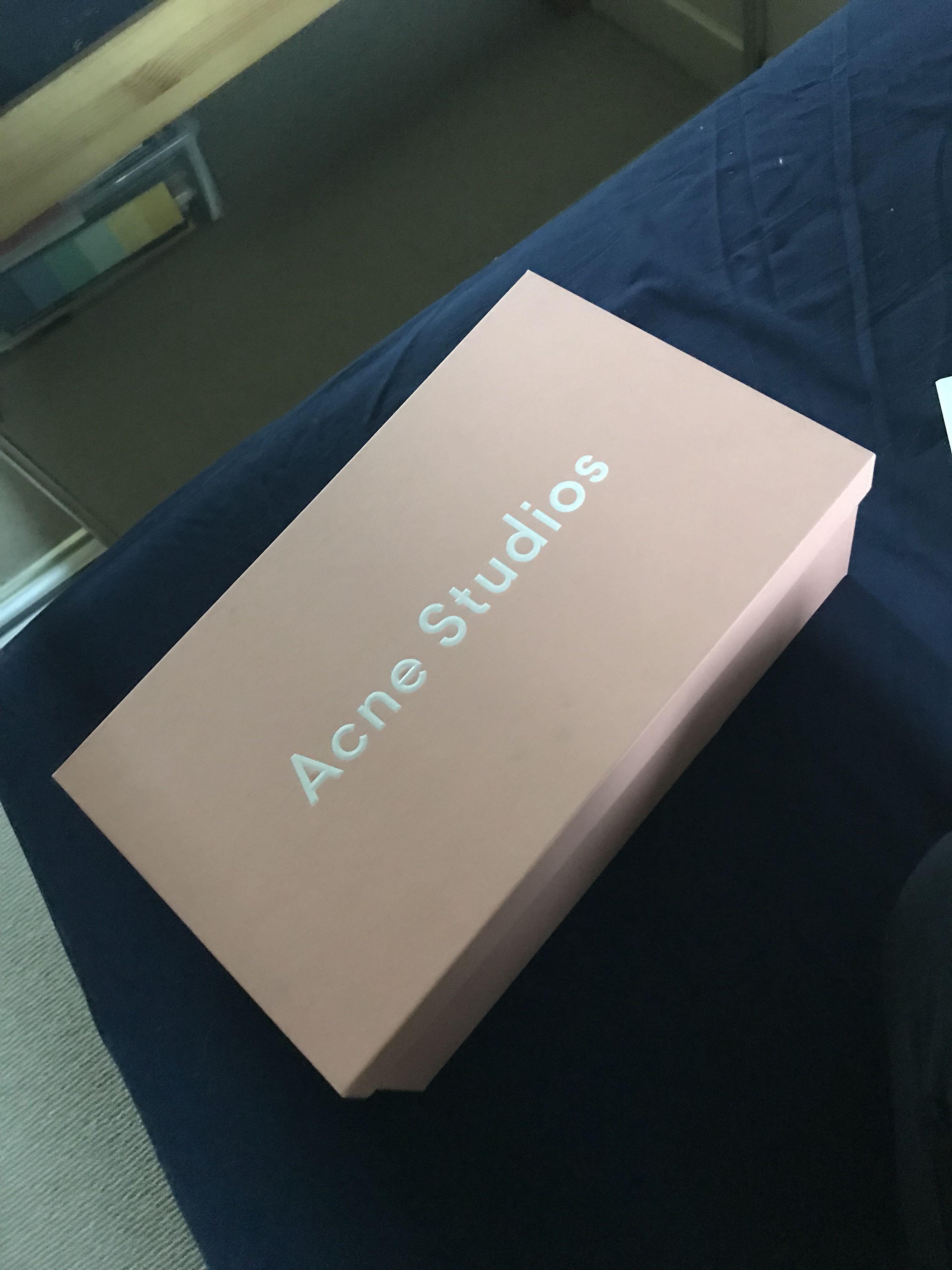 Acne Studios velvet loafers