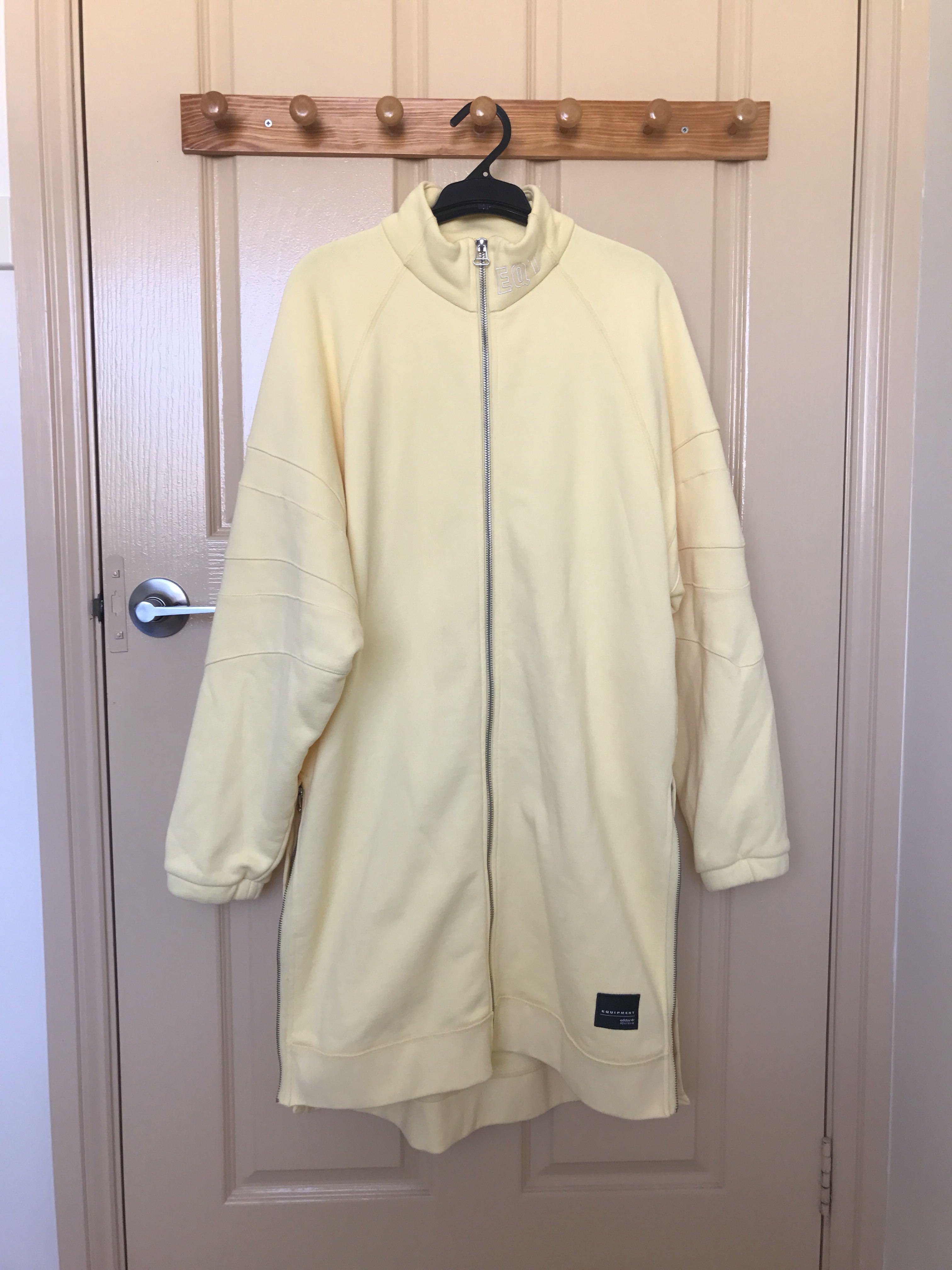 Adidas EQT yellow jacket