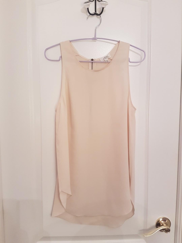 Aritzia Wilfred Sevres Japanese silk top